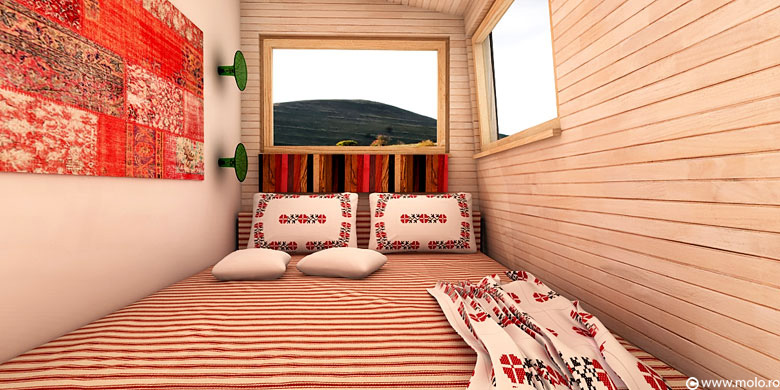 Small cottage - Bedroom