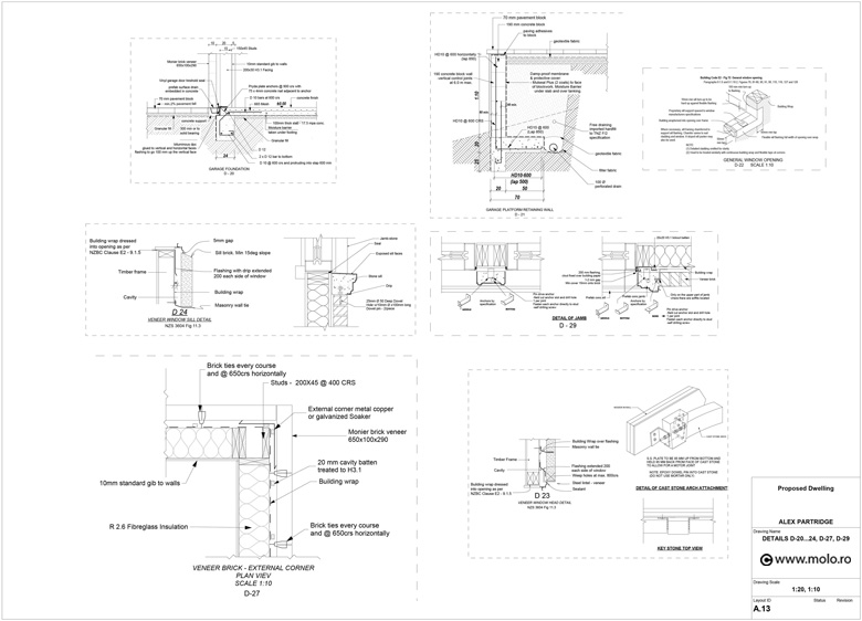 new zealand house cad drawings